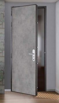 Porte d'entrée pour appartement