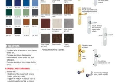 Accessoires, Habillages & Couleurs